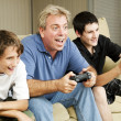 Stock Photo: Video Game Excitement