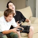Video Gamers - Intensity — Stock Photo