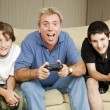 Stock Photo: Video Gamers - Surprised