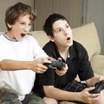 jogos de vídeo - ganhar — Foto Stock