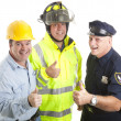 Stock Photo: Workforce Thumbsup