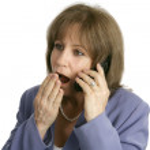 Businesswoman - Office Rumors — Stock Photo