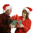 Christmas Gift For Her — Stock Photo #6805142
