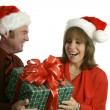 Surprise Christmas Gift — Stock Photo #6805196