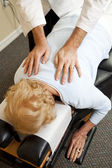 Caring Chiropractic Treatment — Stock Photo