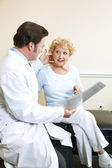 Doctor and Patient - Symptoms — Stock Photo