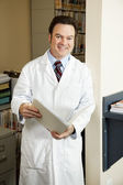 Doctor In His Office — Stock Photo