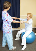 Physical Therapy Workout — Stock Photo