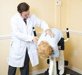 Rehabilitation for Back Injury — Stock Photo