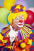 Arg clown — Stockfoto