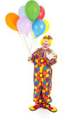 Birthday Clown Isolated — Stock Photo