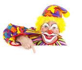 Cheerful Clown Design Element — Stock Photo
