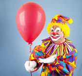 Clown with Balloon for You — Stock Photo