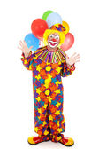 Isolated Clown — Stock Photo
