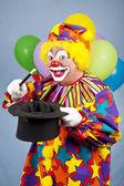 Magical Clown — Stock Photo