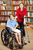 Disabled Kids at School — Stock Photo
