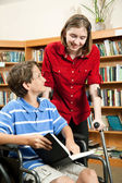 Students with Disabilities — Stock Photo