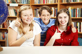 Thumbs Up for Education — Stock Photo