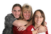 Mother & Sons — Stock Photo