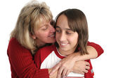 Mother Son Cuddle — Stock Photo