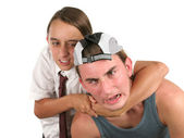 Schoolyard Self-Defense — Stock Photo