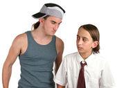 School Bully Intimidation — Stock Photo