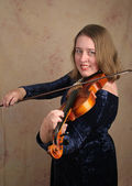 Classical Violinist 1 — Stock Photo