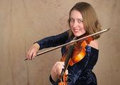 Classical Violinist 2 — Stock Photo