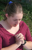 Deep In Prayer 1 — Stock Photo