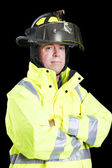 Firefighter - Arms Crossed — Stock Photo
