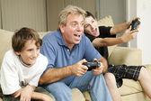 Male Bonding - Video Games — Stock Photo