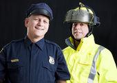 Att tjäna och skydda — Stockfoto
