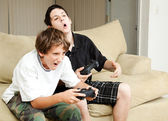 Video Gamers - Intensity — Stock Photo