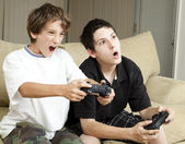 Video Games - Winning — Stock Photo
