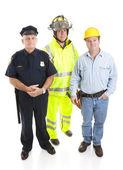 Werkende mannen — Stockfoto