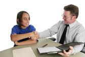 Successful Job Interview — Stock Photo