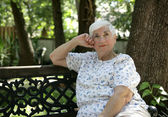 Daydreaming in the Park — Stock Photo