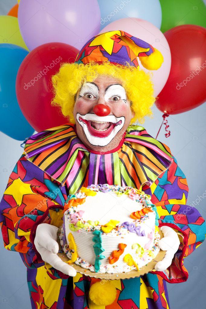 Клоун поздравит с днем рождения