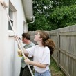 Painting Together Vertical — Stock Photo #6813355