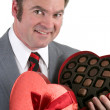 Thanks for the Chocolates! — Stock Photo