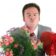 Valentine Guy - Kiss Me — Stock Photo