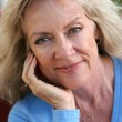 Mature Beauty - Relaxed — Stock Photo