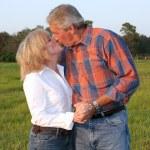baiser romantique — Photo