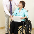 Business - Disability — Stock Photo