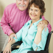 Couple Living with Disability — Stock Photo