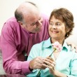Mature Couple - Romance — Stock Photo #6815619