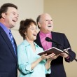 Stock Photo: Singing Group