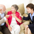 Couples Counseling - Argument - Foto Stock