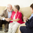 Couples Counseling - Happy Outcome - Stock Photo