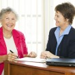 Happy Mature Businesswomen — Stock Photo